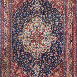 Persian Tabriz rug 4×6